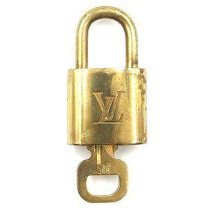 Louis Vuitton Gold Lock Keepall Key Set #315